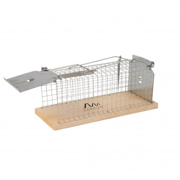 Ratten-Lebendfalle Käfig – die Drahtkastenfalle zum Fangen und Freilassen von Ratten von Gardigo