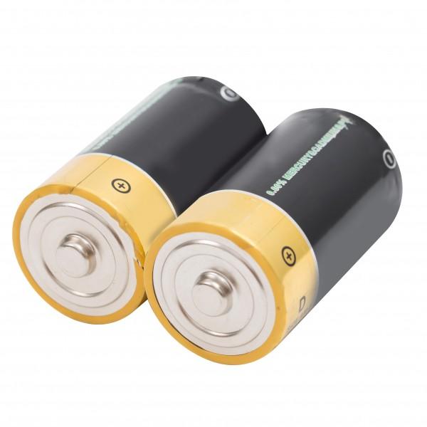 Ersatz-Batterie Mono D 2er-Set, 1,5 V für die Artikel 70021 und 70051