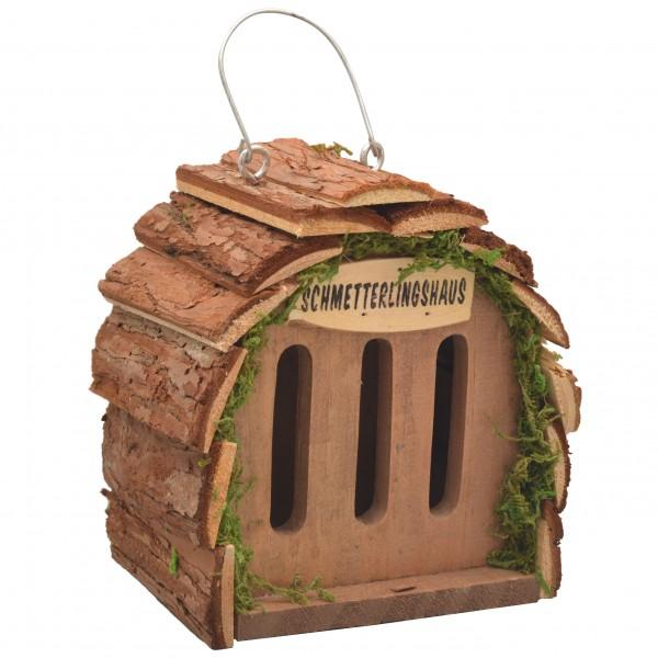 Schmetterlingshaus – der natürliche Schmetterlingsunterschlupf aus naturbelassenem Holz von Gardigo