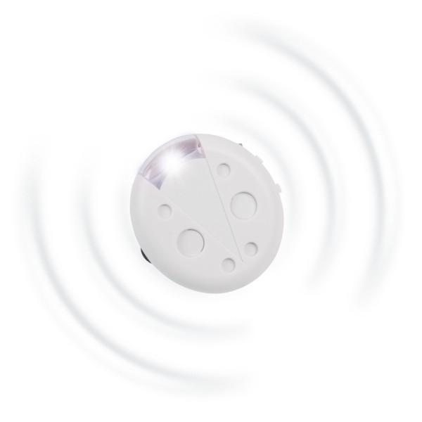 Milbenblocker Mobil – der Ultraschallblocker mit Taschenlampenfunktion von Gardigo
