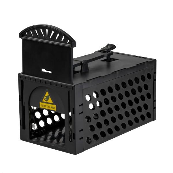 Maus-Lebend-Falle XL – die große Falle mit empfindlichen Auslöser zum Fangen von Mäusen und Ratten von Gardigo
