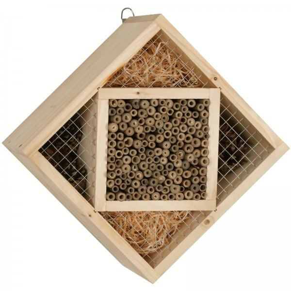 Insekten-Hotel Quadrat Bausatz DIY – der nachhaltige Bastelspaß für die ganze Familie von Gardigo