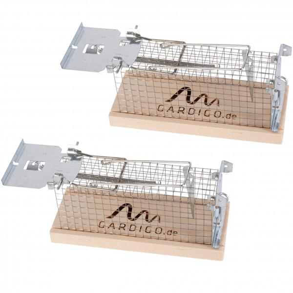 Maus-Lebendfalle Käfig 2er Set - Made in Germany