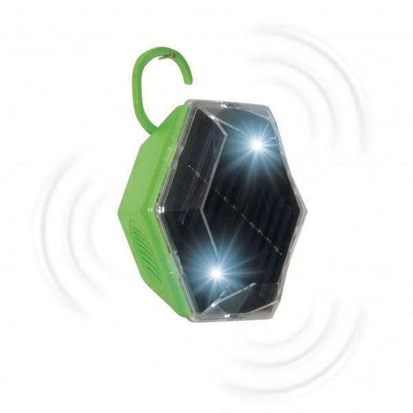 Solar Vogel-Abwehr 360 Grad – die Rundum-Vogelscheuche, die in alle Richtungen wirkt, von Gardigo