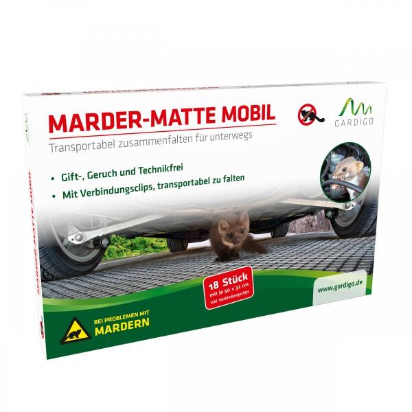 Marder-Matte Mobil – Die transportable Mardermatte von Gardigo