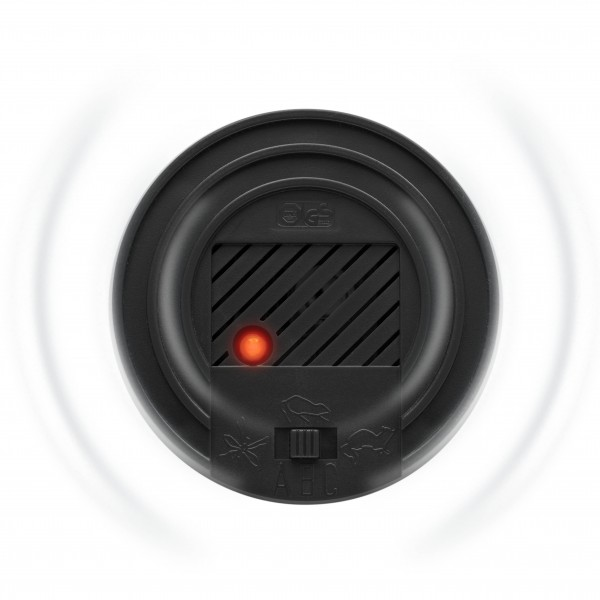 Vario-Schutz 3 in 1 – der Stecker mit 3 verschiedenen Frequenzeinstellungen gegen Ungeziefer von Gardigo