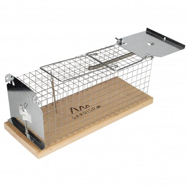Gardigo Ratten-Lebendfalle Käfig - Produkt hergestellt in Deutschland
