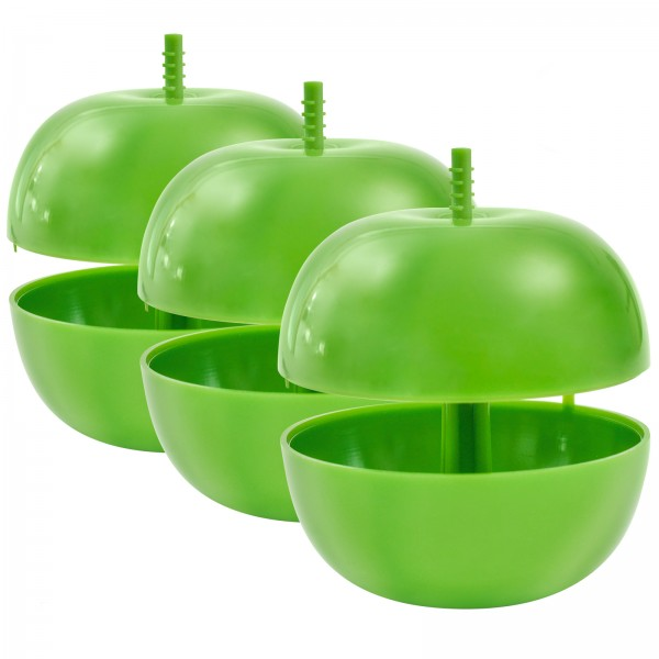 Fruchtfliegen-Falle Apfel, 3er-Set