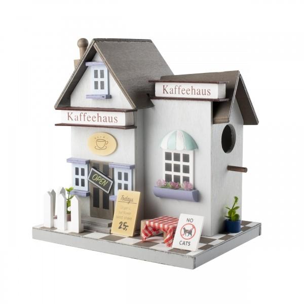 Vogelhaus Kaffeehaus – das stilvolle Vogelhaus für eine kurze Kaffeepause von Gardigo