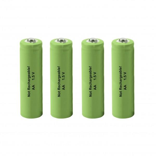 Ersatz-Batterie AA 4er-Set, 1,5 V für die Artikel 60046, 60048, 60049 und 60050