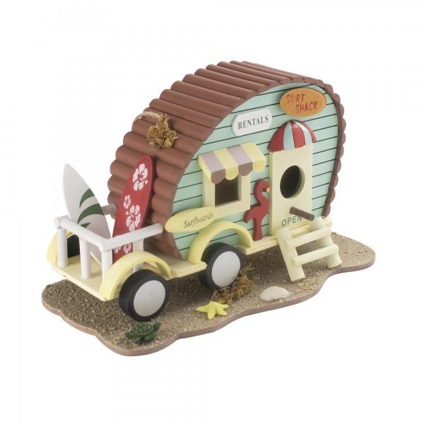 Vogelhaus Wohnwagen – das dekorative Vogelhaus, bei dem Strandfeeling aufkommt, von Gardigo