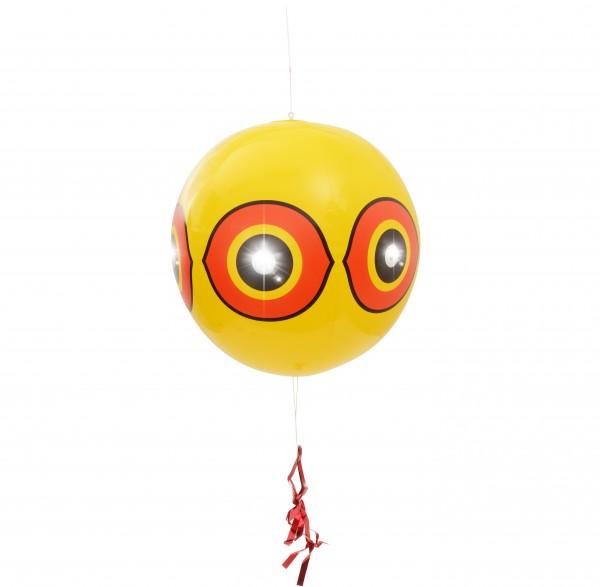 Vogel- & Reiher-Abwehr Ballon 2er-Set – der Vogelschreck-Ballon mit Reflektoren und Flatterband von Gardigo