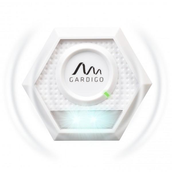 Waschbär-Abwehr – der Waschbärschreck mit Ultraschall und Blitzlicht von Gardigo