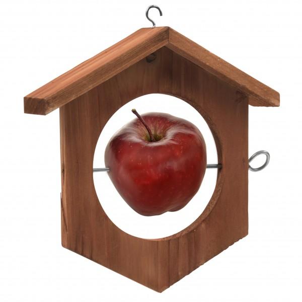 Apfel Futterstation für Vögel – die Futterstation für Äpfel, Birnen und Meisenknödel von Gardigo