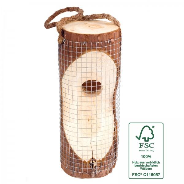 Vogelfuttersäule – die natürliche Vogelfutterstation aus FSC-zertifizierten Holz von Gardigo