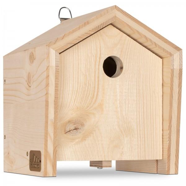Tier-Haus für Meisen – die Nisthilfe, perfekt geeignet für kleinere Meisenarten, von Gardigo