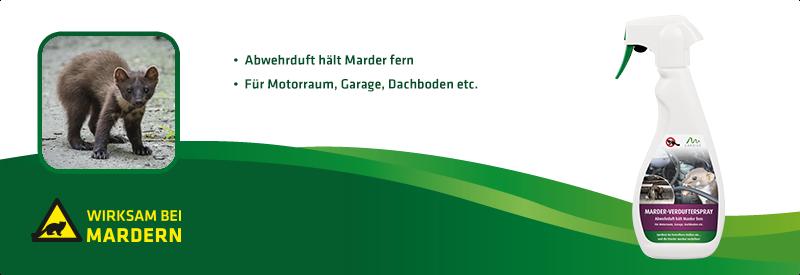 Marder-Verdufterspray