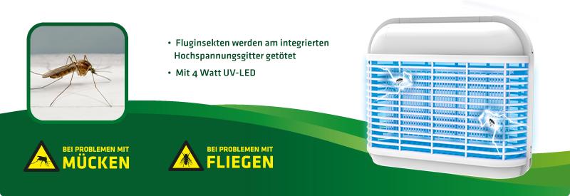Fluginsekten-Vernichter Jasmin UV-LED