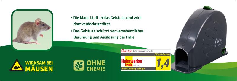 Maus-Weg-Falle