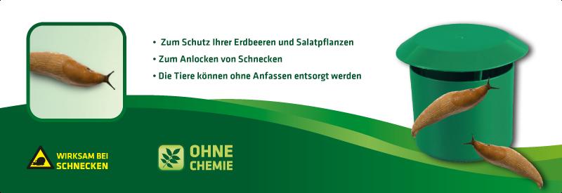 Schnecken-Falle 2er Set
