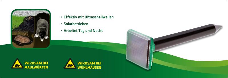 Maulwurf-Abwehr Solar Mini