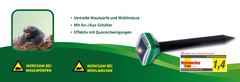 Maulwurf-Abwehr Solar Basic