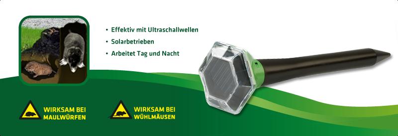 Wühltier-Frei Solar Diamant