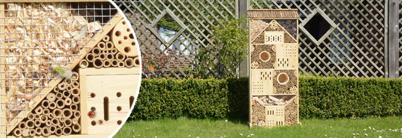 insektenhotel xxxl gardigo. Black Bedroom Furniture Sets. Home Design Ideas